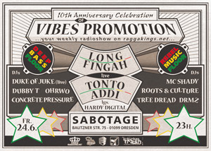 vibes promotion party